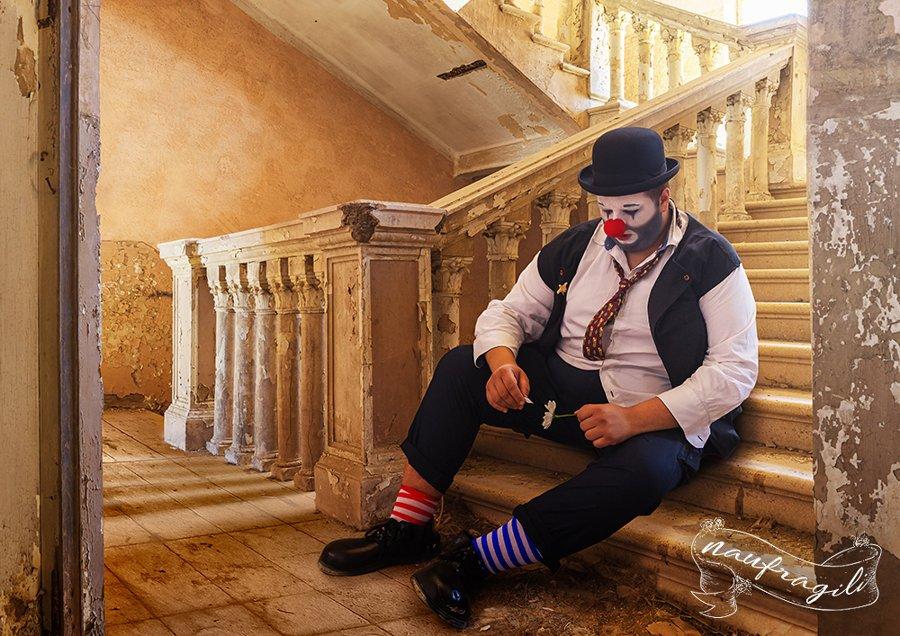 Il-Clown-Scale rudere -©Daniele-Tedeschi-Naufragili