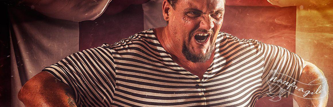 uomo forzuto sensibilità header dietro il tendone ©DanieleTedeschi